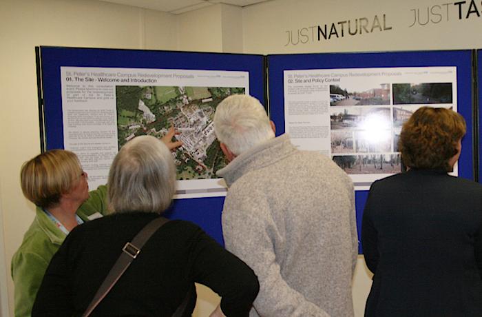 West Site Development Display