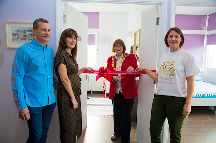 Opening the accommodation
