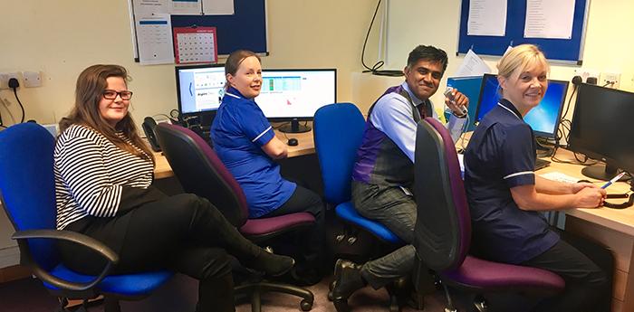 The virtual clinic team
